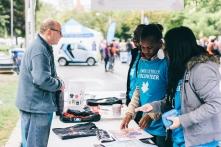 Infobooth volunteers