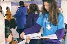Children's Activity Tent volunteer