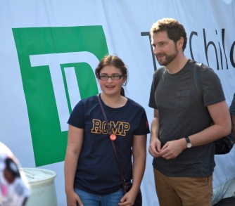 Kenneth Oppel at The Word On The Street 2014