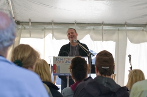 Anthony De Sa - Toronto Book Awards Tent